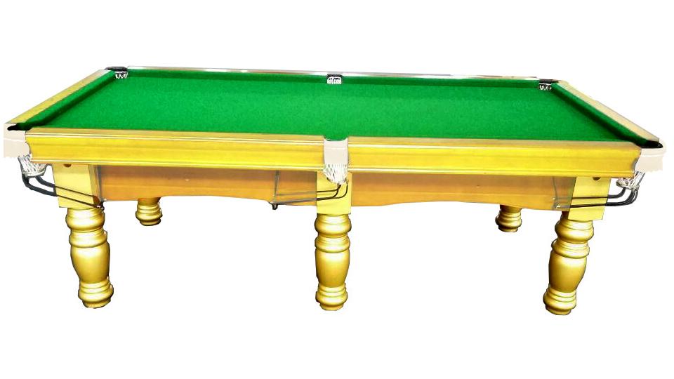 Pool table 8ft slate billiard snooker table for 1 slate pool table