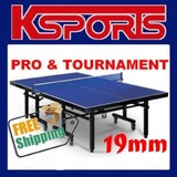 TABLE TENNIS PING PONG TABLE 19MM TOP