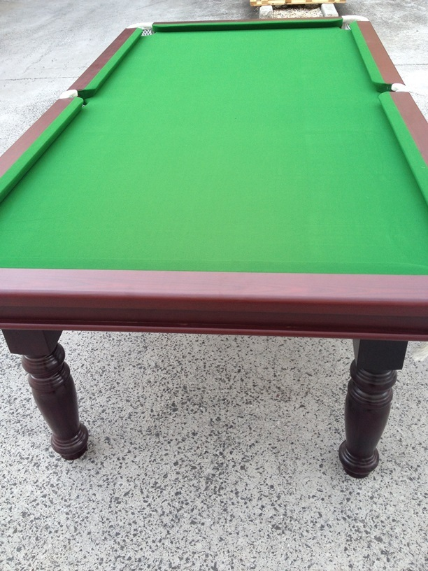 TRADITIONAL 8FT PUB SIZE POOL TABLE SNOOKER BILLIARD TABLE GREEN