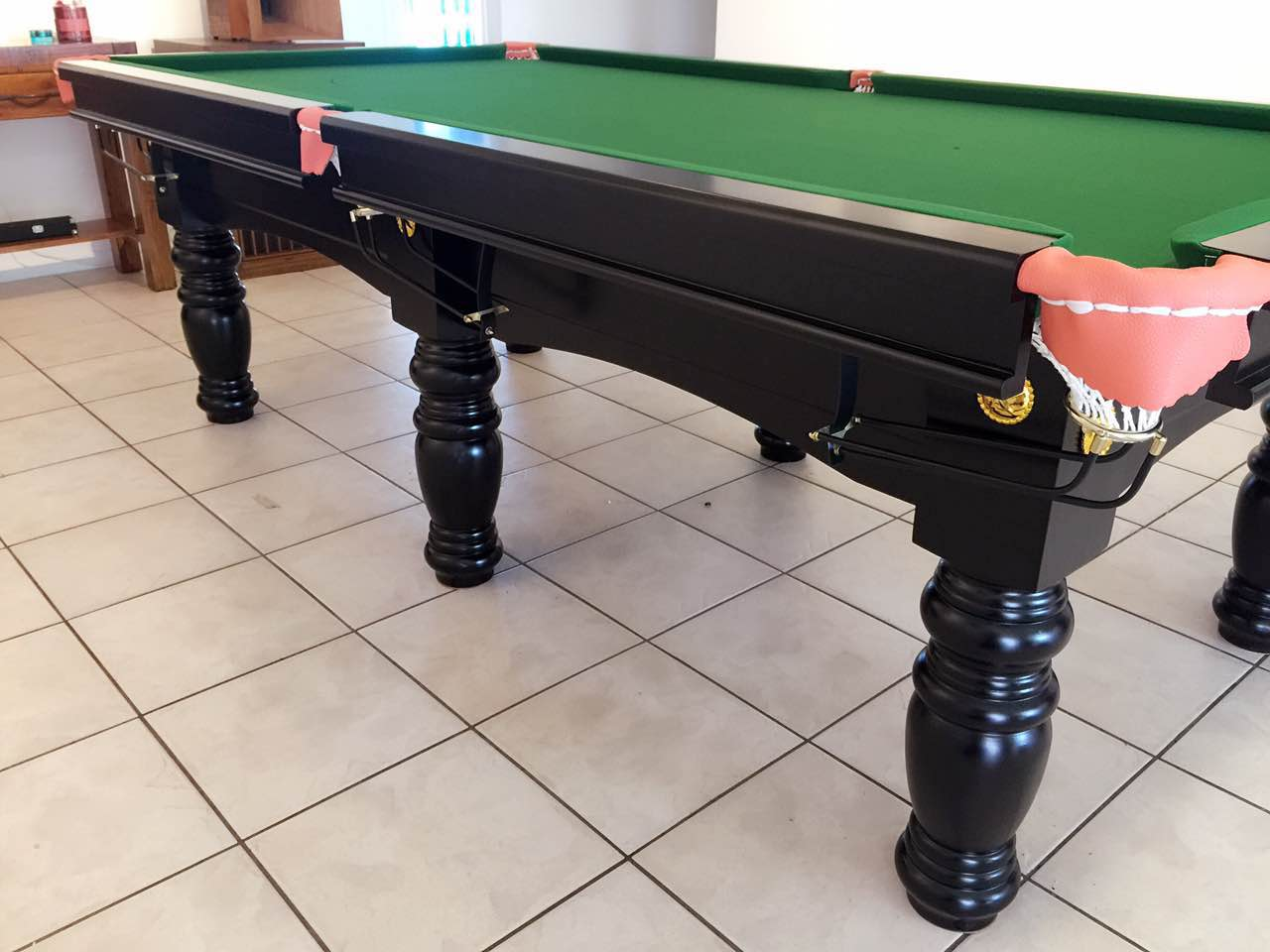 POOL TABLE FT SLATE BILLIARD SNOOKER TABLE - How to put a pool table together