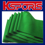 POOL SNOOKER BILLIARD TABLE CUSHION CLOTH FELT  STRIPS X 6 - WOOL - GREEN