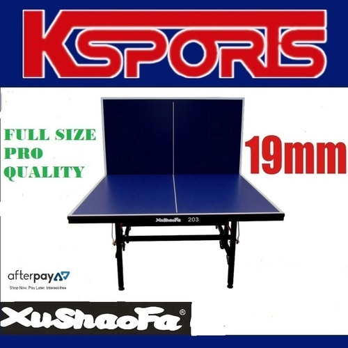 Xu Shao Fa 19mm Championship Table Tennis/Ping Pong Table - Brand New